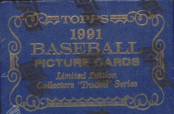 1991 Topps Tiffany Traded & Rookies Baseball Complete Set