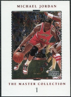 1999/00 Upper Deck MJ Master Collection #1 Michael Jordan /500