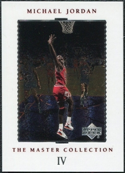 1999/00 Upper Deck MJ Master Collection #4 Michael Jordan /500