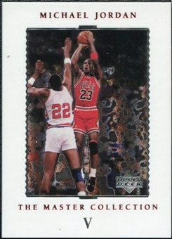 1999/00 Upper Deck MJ Master Collection #5 Michael Jordan /500