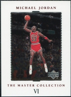 1999/00 Upper Deck MJ Master Collection #6 Michael Jordan /500