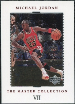 1999/00 Upper Deck MJ Master Collection #7 Michael Jordan /500