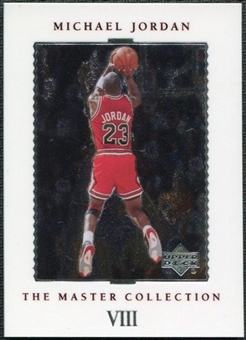 1999/00 Upper Deck MJ Master Collection #8 Michael Jordan /500