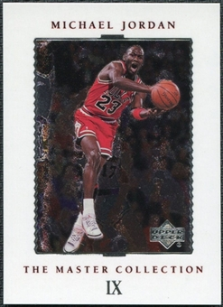 1999/00 Upper Deck MJ Master Collection #9 Michael Jordan /500