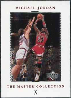 1999/00 Upper Deck MJ Master Collection #10 Michael Jordan /500