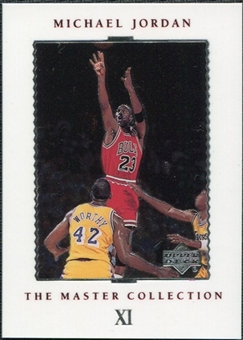 1999/00 Upper Deck MJ Master Collection #11 Michael Jordan /500