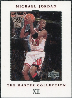 1999/00 Upper Deck MJ Master Collection #12 Michael Jordan /500