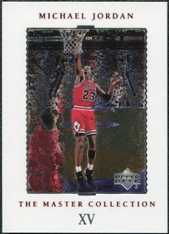 1999/00 Upper Deck MJ Master Collection #15 Michael Jordan /500