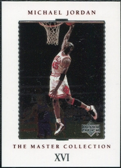 1999/00 Upper Deck MJ Master Collection #16 Michael Jordan /500