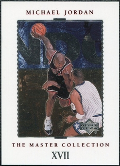1999/00 Upper Deck MJ Master Collection #17 Michael Jordan /500