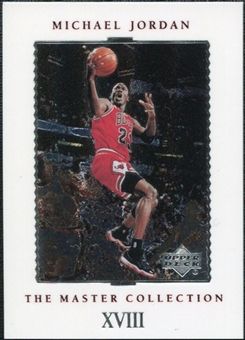 1999/00 Upper Deck MJ Master Collection #18 Michael Jordan /500