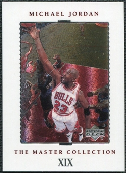 1999/00 Upper Deck MJ Master Collection #19 Michael Jordan /500