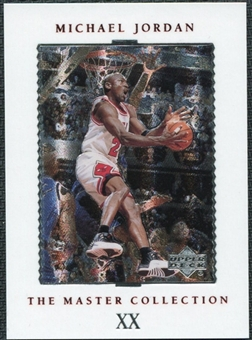 1999/00 Upper Deck MJ Master Collection #20 Michael Jordan /500