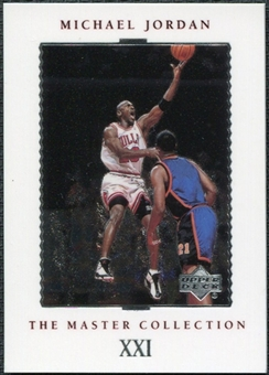 1999/00 Upper Deck MJ Master Collection #21 Michael Jordan /500