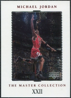 1999/00 Upper Deck MJ Master Collection #22 Michael Jordan /500