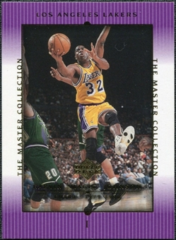 2000 Upper Deck Lakers Master Collection #1 Magic Johnson /300