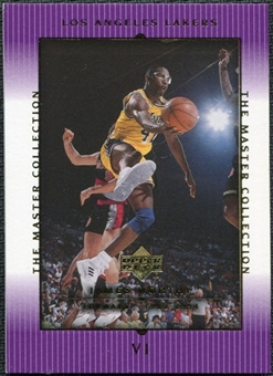 2000 Upper Deck Lakers Master Collection #6 James Worthy /300