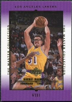 2000 Upper Deck Lakers Master Collection #8 Kurt Rambis /300