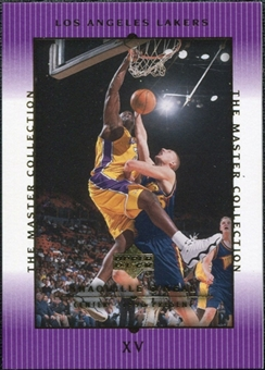 2000 Upper Deck Lakers Master Collection #15 Shaquille O'Neal /300