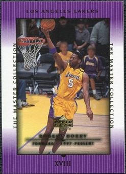 2000 Upper Deck Lakers Master Collection #18 Robert Horry /300