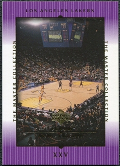 2000 Upper Deck Lakers Master Collection #25 L.A. Forum /300