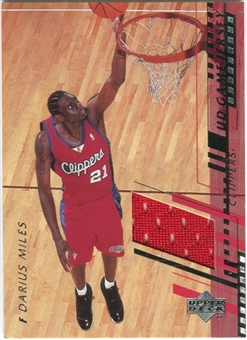 2000/01 Upper Deck Game Jerseys 2 #DMH Darius Miles