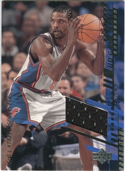 2000/01 Upper Deck Game Jerseys 2 #LSH Latrell Sprewell
