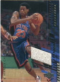 2000/01 Upper Deck Game Jerseys 2 #MAH Marcus Camby