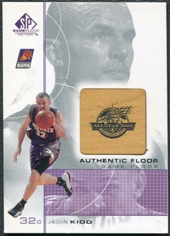 2000/01 Upper Deck SP Game Floor Authentic Floor #JK Jason Kidd