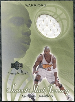 2001/02 Upper Deck Sweet Shot Game Jerseys #AJ Antawn Jamison