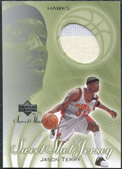 2001/02 Upper Deck Sweet Shot Game Jerseys #JT Jason Terry