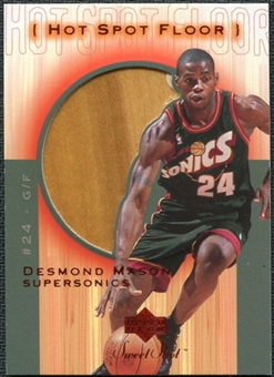 2001/02 Upper Deck Sweet Shot Hot Spot Floor #DEF Desmond Mason