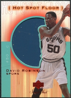 2001/02 Upper Deck Sweet Shot Hot Spot Floor #DVF David Robinson
