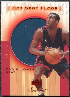 2001/02 Upper Deck Sweet Shot Hot Spot Floor #EJF Eddie Jones