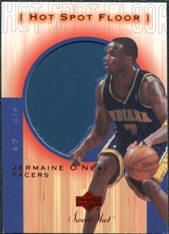 2001/02 Upper Deck Sweet Shot Hot Spot Floor #JOF Jermaine O'Neal