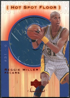 2001/02 Upper Deck Sweet Shot Hot Spot Floor #RMF Reggie Miller
