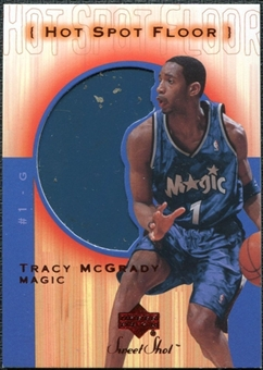 2001/02 Upper Deck Sweet Shot Hot Spot Floor #TMF Tracy McGrady