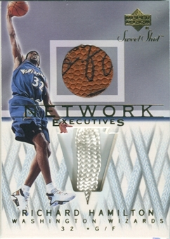 2001/02 Upper Deck Sweet Shot Network Executives #RHN Richard Hamilton