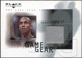 2000/01 Upper Deck Black Diamond Game Gear #KG2 Kevin Garnett