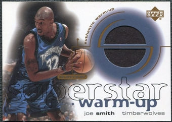 2001/02 Upper Deck Ovation Superstar Warm-Ups #JS Joe Smith