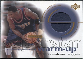 2001/02 Upper Deck Ovation Superstar Warm-Ups #MC Antonio McDyess
