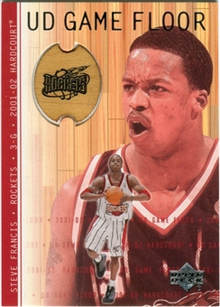 2001/02 Upper Deck Hardcourt UD Game Floor #SF Steve Francis