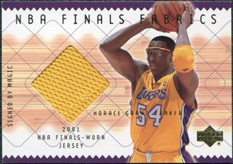 2001/02 Upper Deck NBA Finals Fabrics #HGF Horace Grant