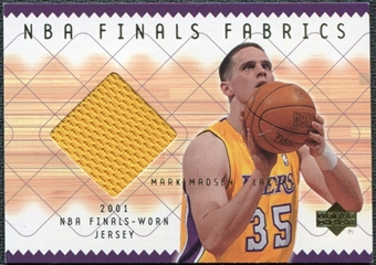 2001/02 Upper Deck NBA Finals Fabrics #MMF Mark Madsen