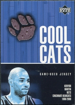 2001/02 Upper Deck Cool Cats Jerseys #KMC Kenyon Martin