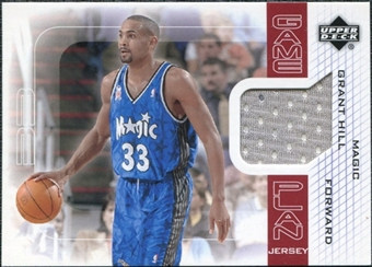 2002/03 Upper Deck Game Plan Jerseys #GHGP Grant Hill