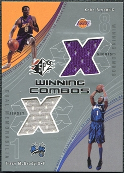 2002/03 Upper Deck SPx Winning Combos #KBTM Kobe Bryant Tracy McGrady SP