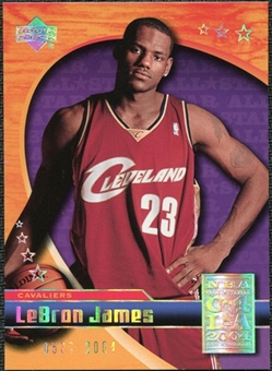 2004 Upper Deck All-Star Game #LJ1 LeBron James /2004