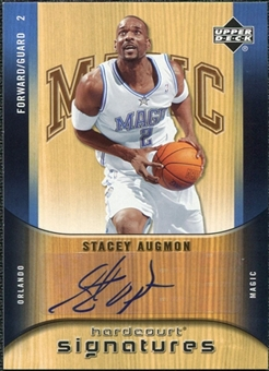 2005/06 Upper Deck Hardcourt Signatures #AU Stacey Augmon Autograph