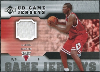 2005/06 Upper Deck Game Jerseys #LD Luol Deng